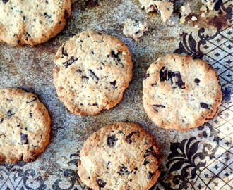 Chocolate Chip Cookies (glutenfria, utan vitt socker)