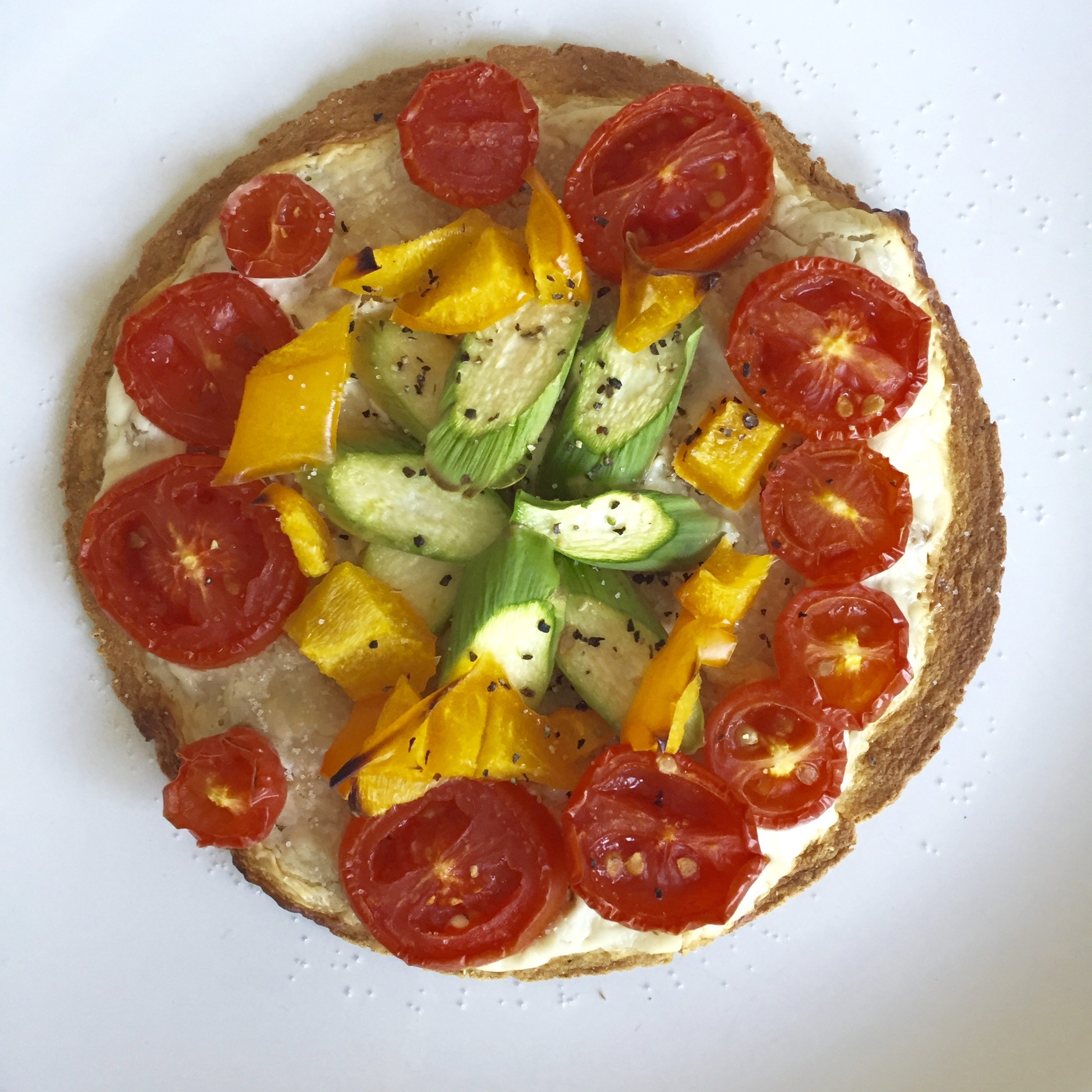 Snack Hacks: Tortilla Flatbread Pizza