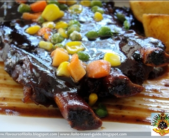 Baby back ribs and more Toninos Ristorante in Jaro