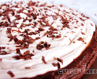 Chocolate Kahlua Cream Pie (Eggless)