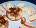 Delectable mini bites - cheesecakes or apple tarts with a cheese cake base, decision is yours