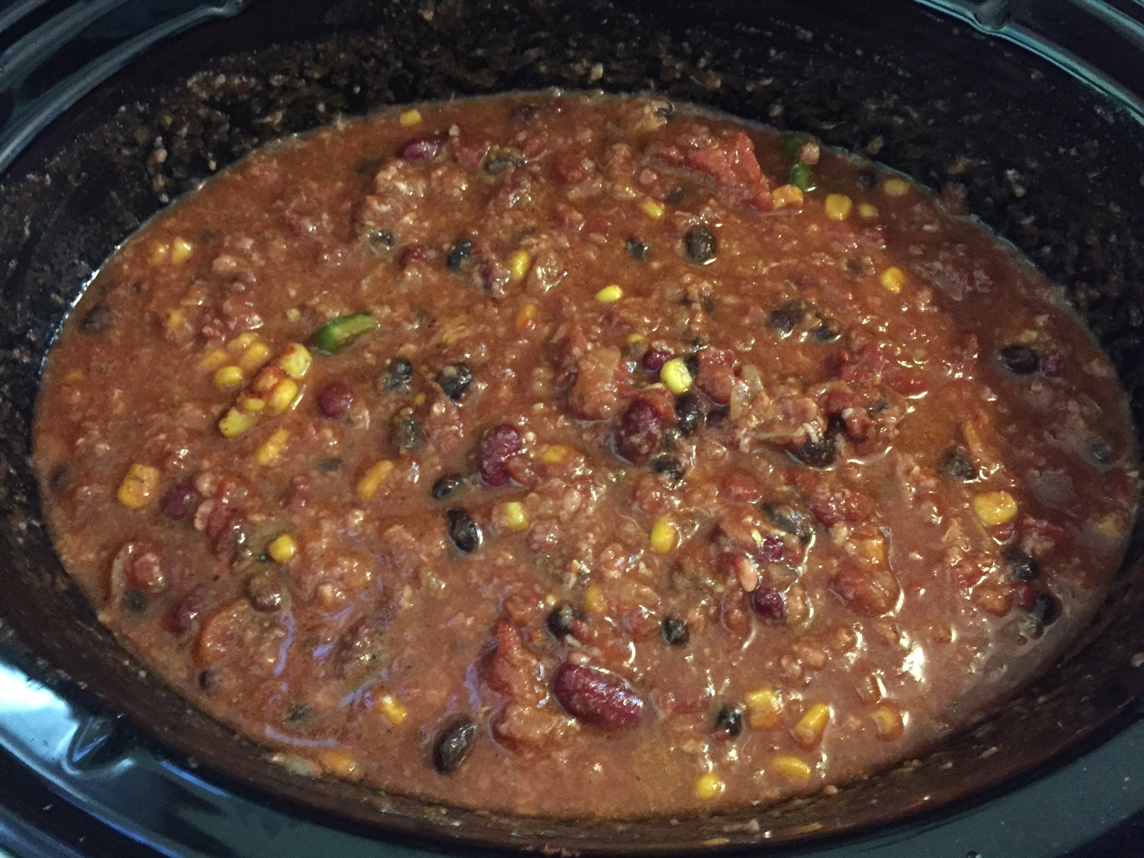 Delicious and Easy Crock Pot Chili