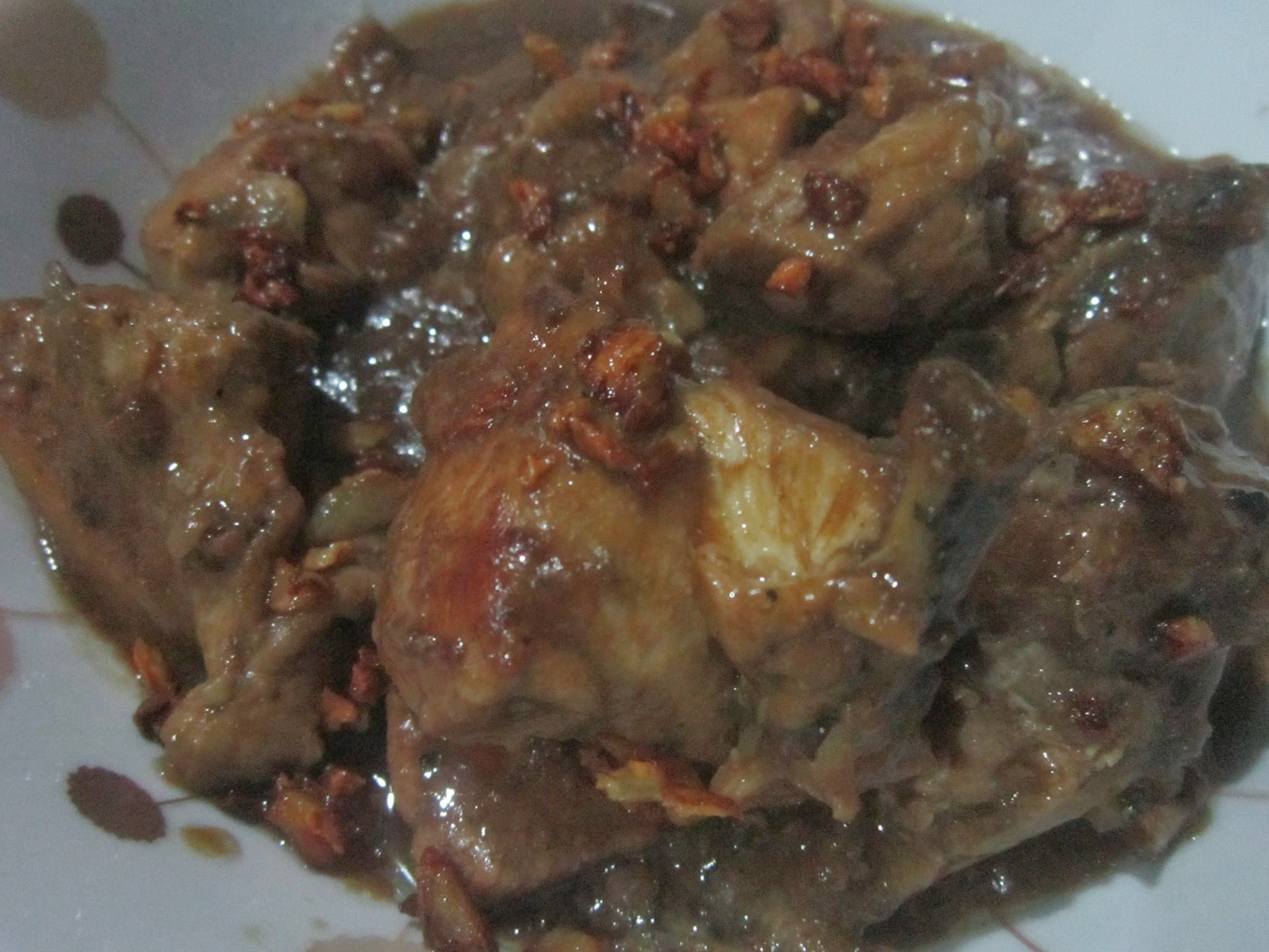 CHICKEN ADOBO sa SAMPALOK
