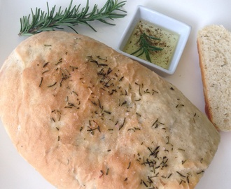 DIY Rosemary Loaf Bread