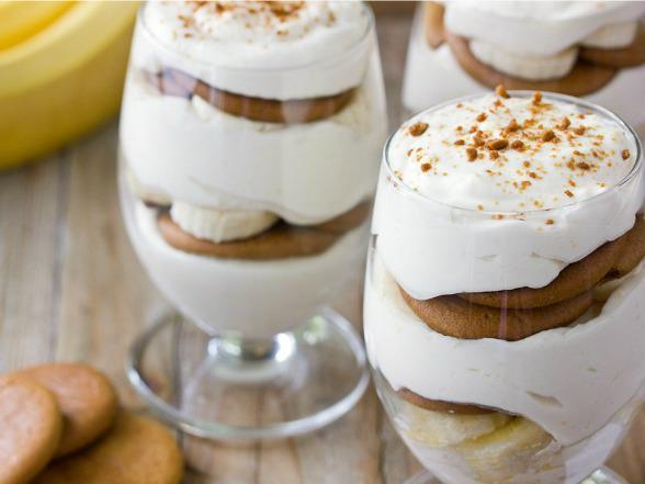 Bourbon Banana Puddings