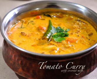 Tomato Curry with Coconut Milk – Simple Kerala Style