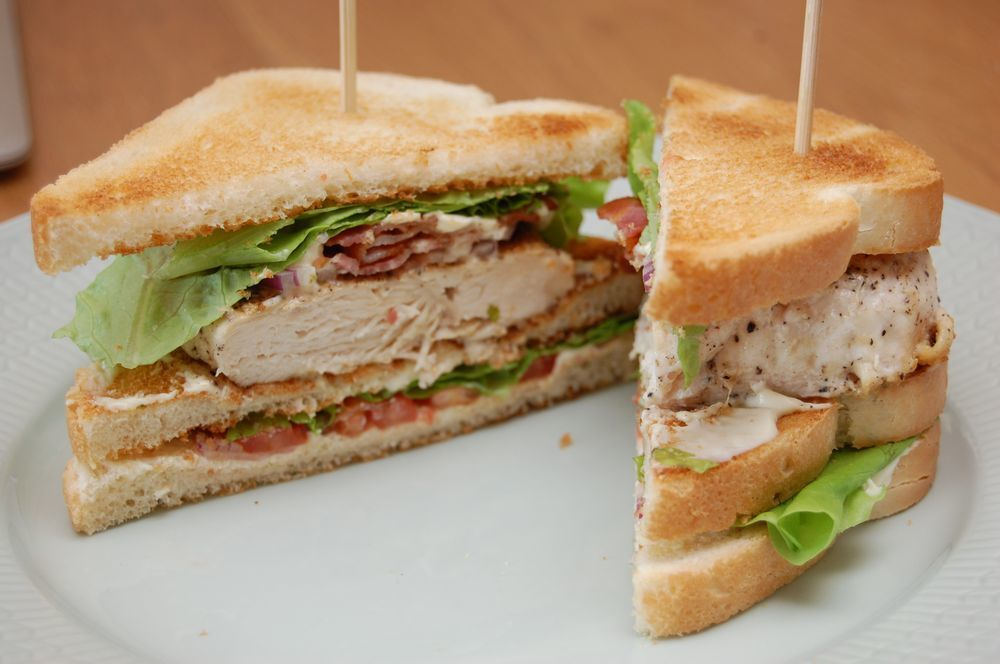 Oskars club sandwich