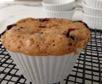 ONE BLUEBERRY MUFFIN! NOW! (Small Batch Baking)