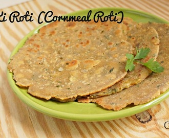 Makkai ki Roti - Indian Cornmeal Flatbread