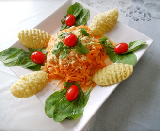 ::Spicy Thai carrot salad::
