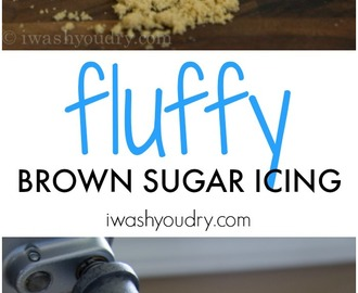 Fluffy Brown Sugar Icing {Pat's Recipes}
