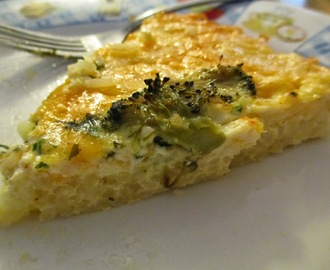 Rice Crust Quiche