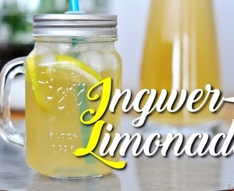 Selbstgemachte Ingwer-Limonade