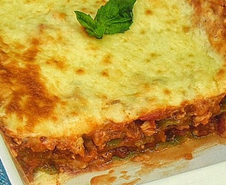 Tomato and Basil Chicken Lasagna