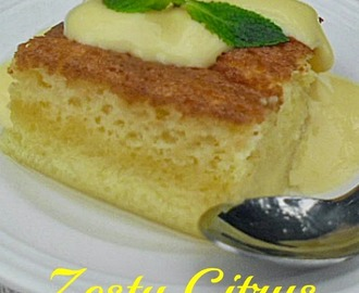 Zesty Citrus Pudding Slices