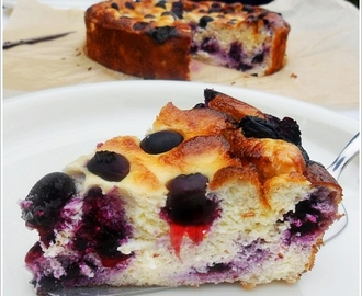 Blueberry Cheesecake (Glutenfrei & Low Carb)