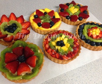 Glazed Fruit Tarts