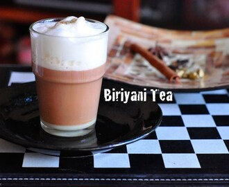 Biriyani Tea Masala Tea made at home