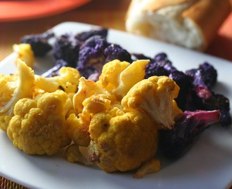 Simplest Roasted Cauliflower