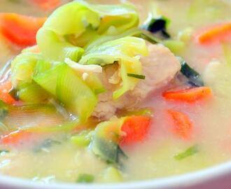 Chicken Zoodle soup – Excuse me its gluten free and low fat as well!