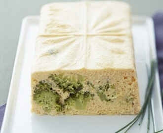 Terrine de saumon et brocoli