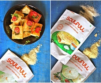 Review of Soulfull South Indian Breakfast Mixes and Rava Idli Squares Recipe