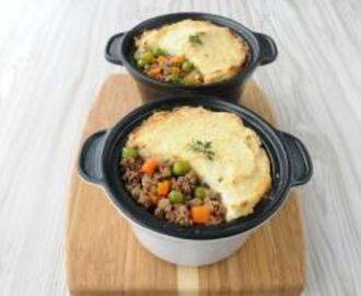 Lo-GI Ostrich Cottage Pie