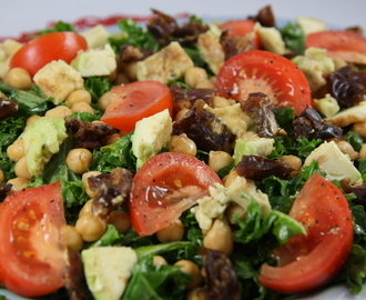 Kale, Date and Nut Salad