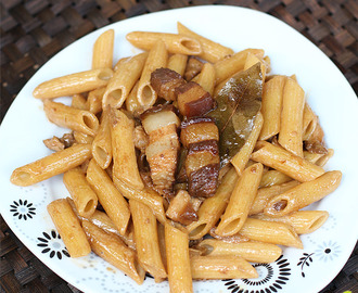 Delightful-E Yummy Creamy Adobo Pasta by Chef Bruce + Electrolux's New Home