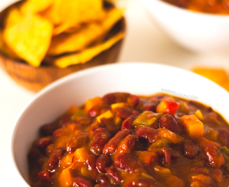 Red Beans Vegan Chili