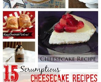 15 Easy Cheesecake Recipes