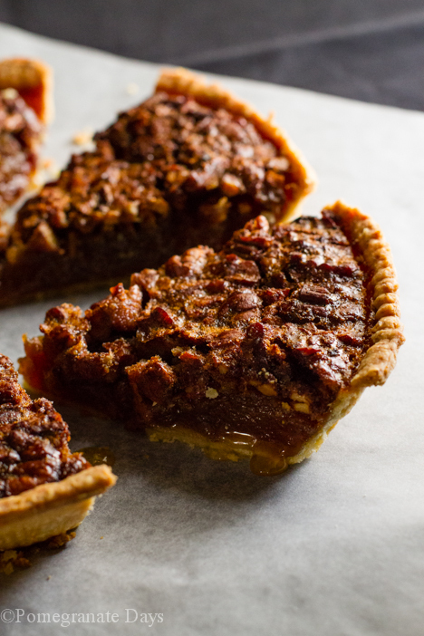 Chocolate Chip & Pecan Nut Pie