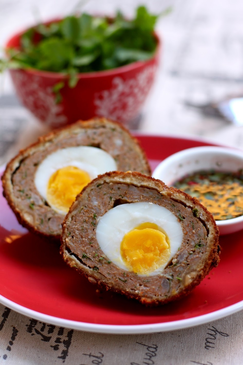 Thai Red Curry Scotch Eggs