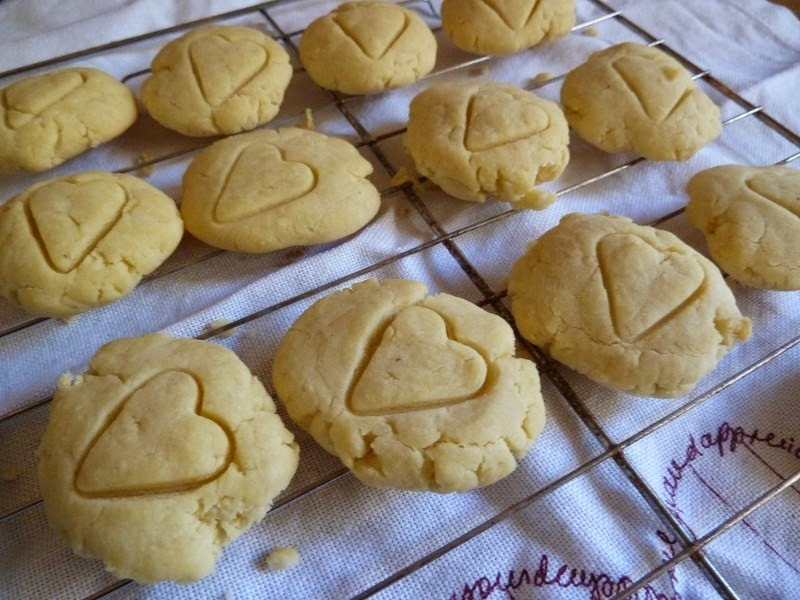 Part 1: Gluten-Free, Egg-Free Vanilla Biscuits with Lemon Curd Filling