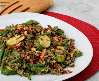 Rainbow Nation Quinoa Salad