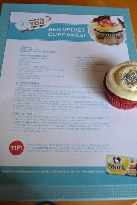 World Baking Day: Red Velvet Cupcakes