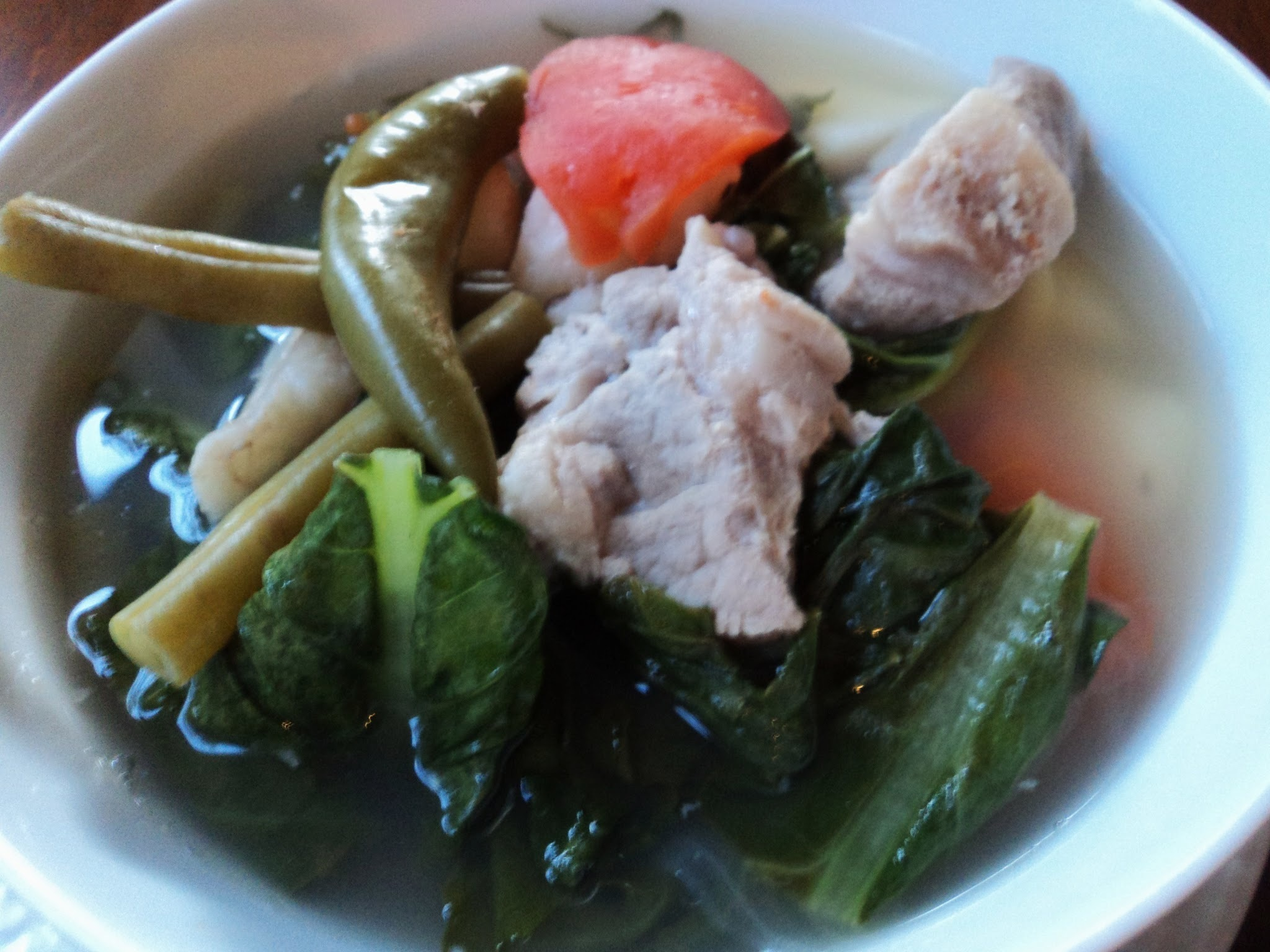 Sinigang na Baboy (Pork in Tangy Broth)