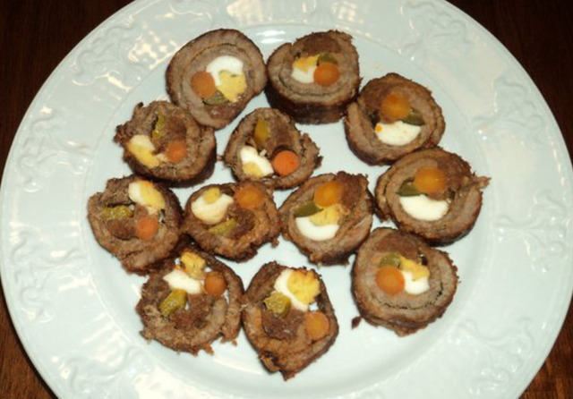 Morcon (Meat Roll)
