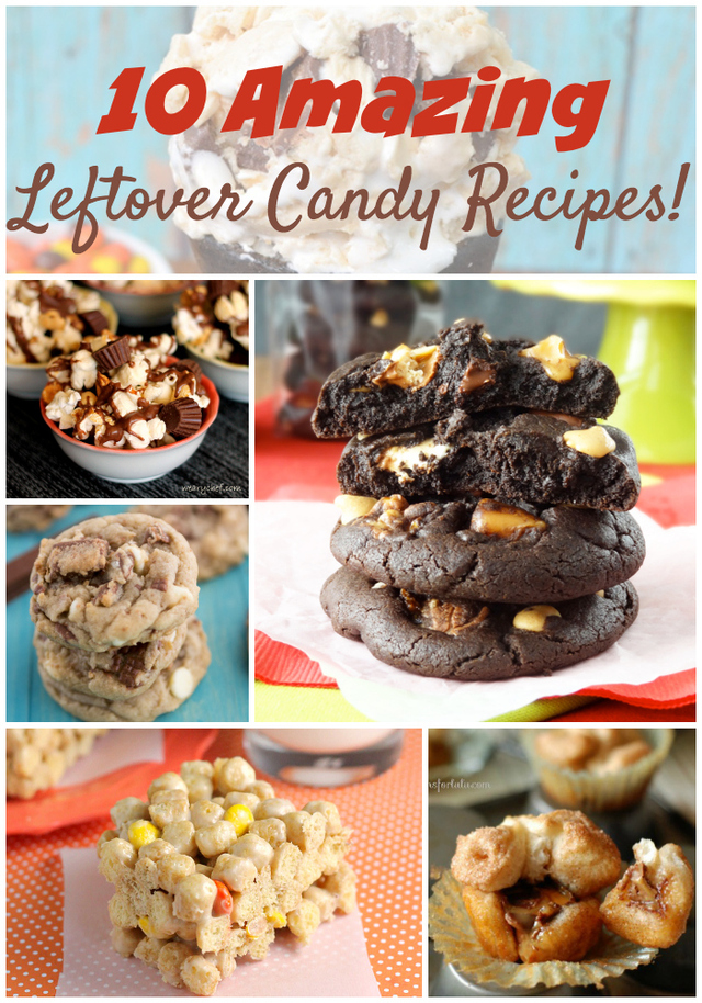 10 Leftover Candy Recipes {PLUS a $300 Giveaway!}