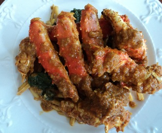 King Crab Clusters in Alavar Sauce
