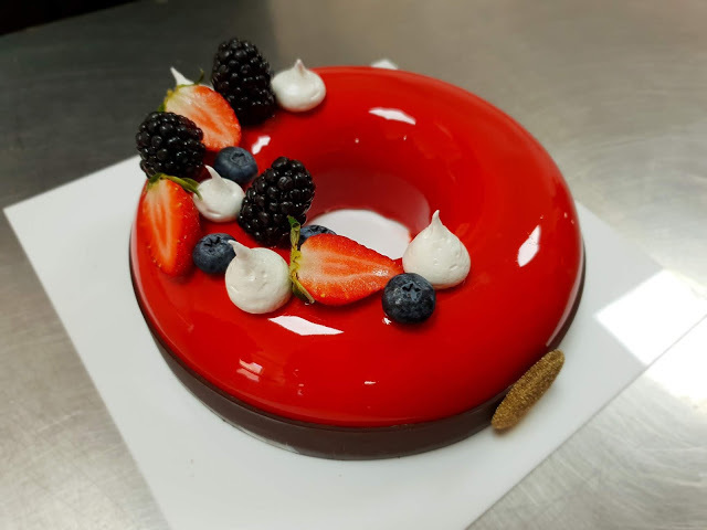 Berry Vanilla Gateau | Academy of Pastry Arts
