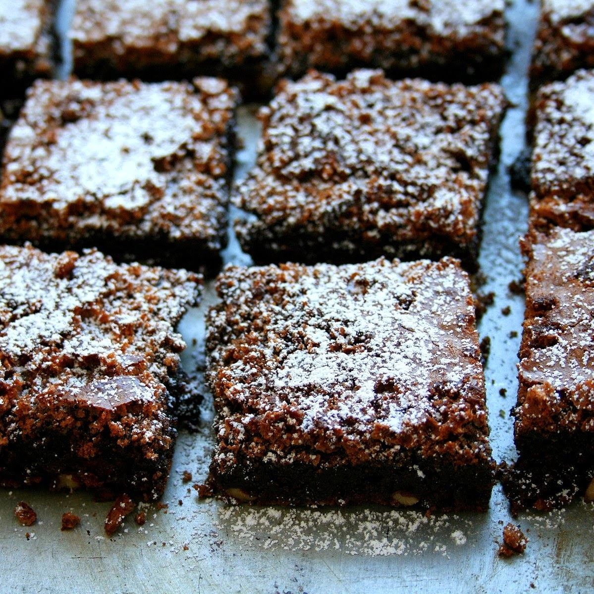 Chocolate, Walnut & Cranberry Brownies