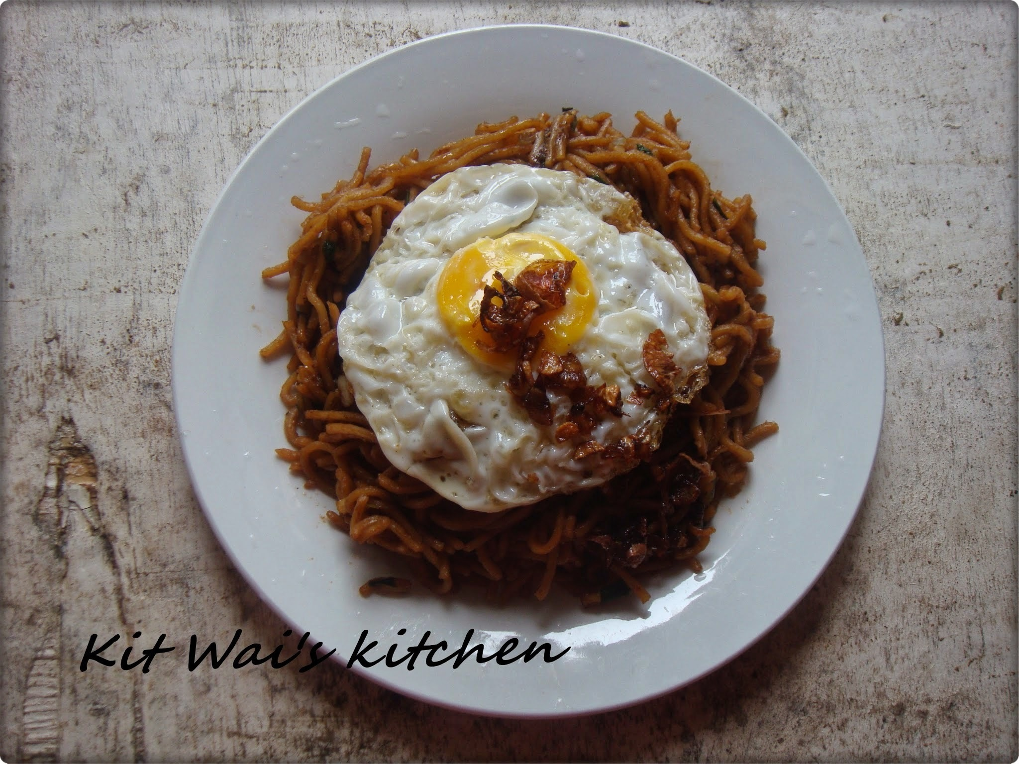 印尼炒面 ~ Bakmie Goreng / Indonesian Stir-fried noodles