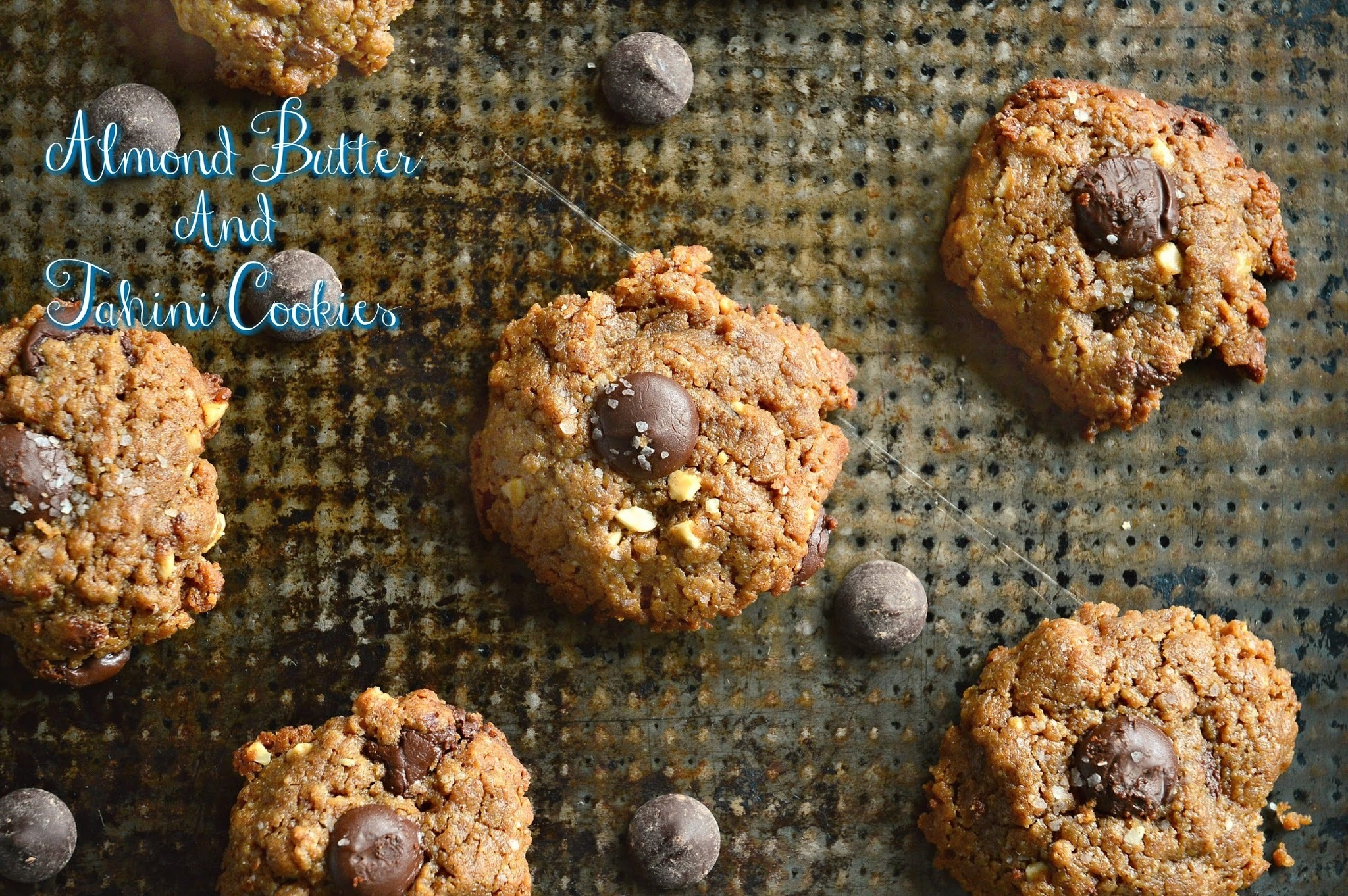 Almond Butter Tahini Cookies and 23 Passover Recipes!