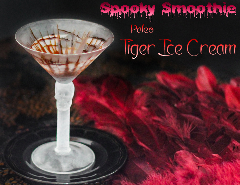 Paleo Tiger Ice Cream Smoothie