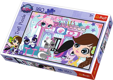 Trefl Littlest Pet Shop 160 Bitar