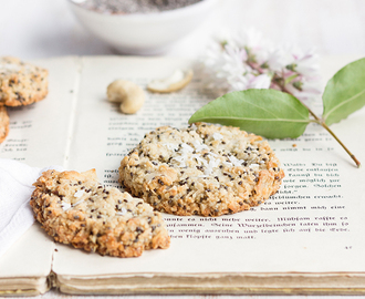 Cookie Time: healthy Lemon Chia Cookies