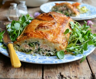 June Thrifty & Organic Meal Planner: Salmon, Watercress & Strawberry Delights!