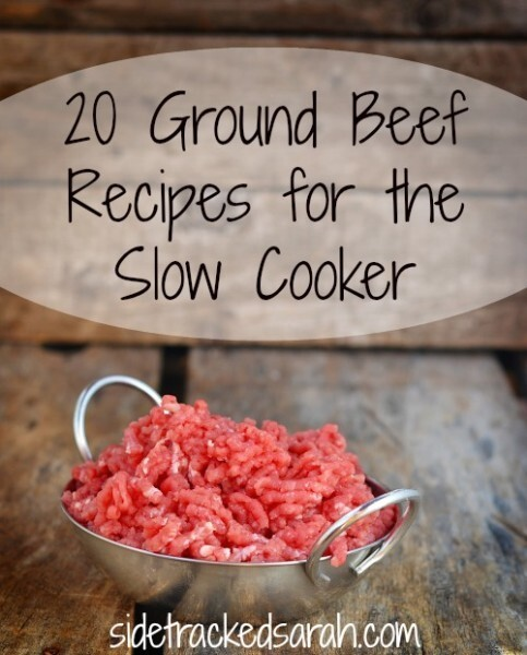 20 Ground Beef Recipes for the Slow Cooker