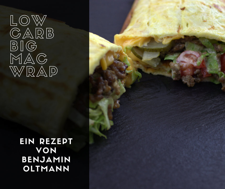 Low Carb Big Mac Wrap – Der leckerste Burger ever! ?